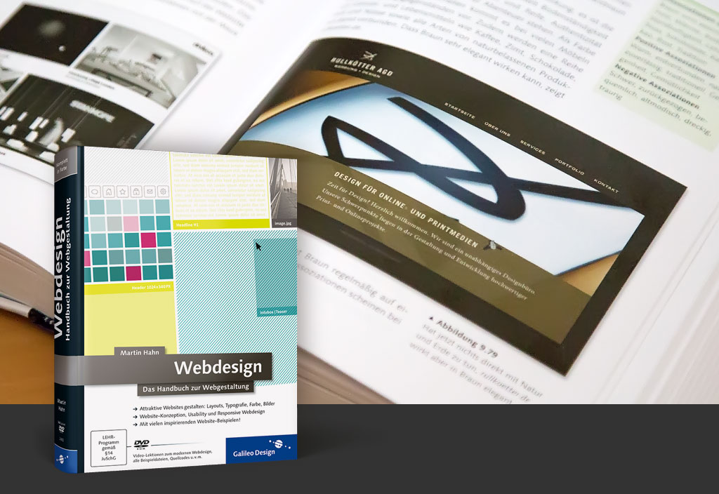 Webdesign-Buch